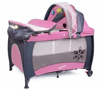 Mamakids - Sleepy Camp Cot Pink